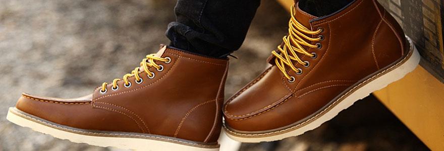 Boots pour homme