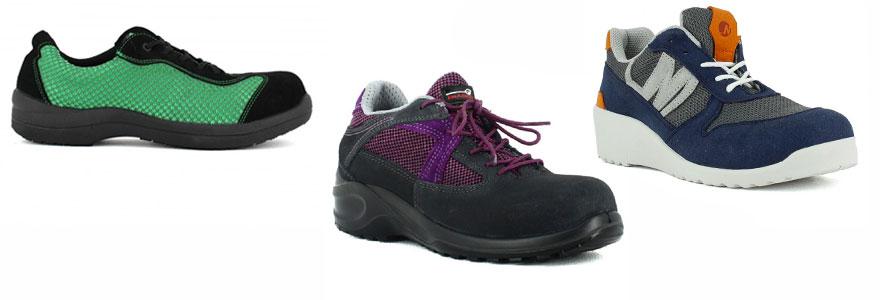 chaussures de sécurité légères pour femmes