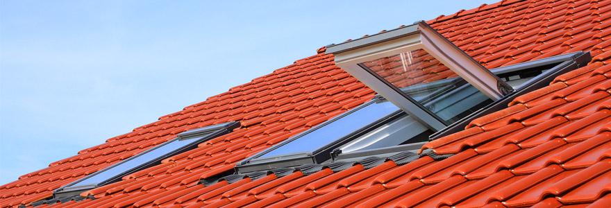 maison performante fenêtre de toit