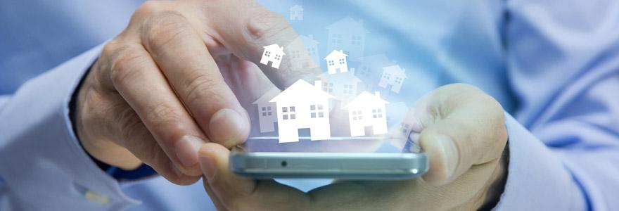 réseaux d'agences immobilières