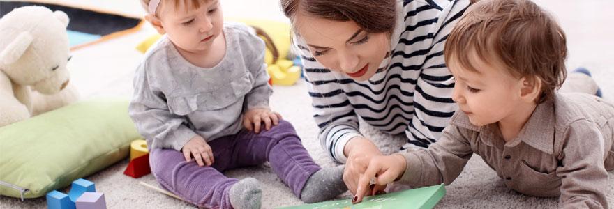 service de garde d'enfant professionnel
