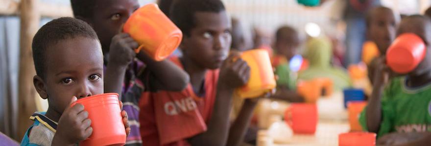 Contre la faim dans le monde