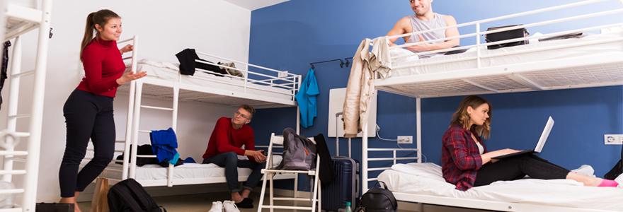 logement dans une résidence universitaire