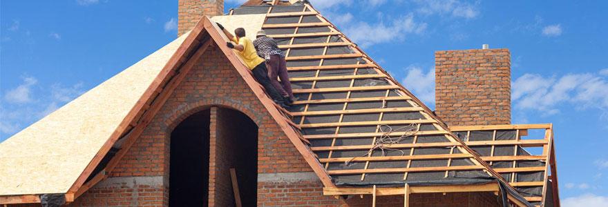 Travaux de réhaussement de toiture