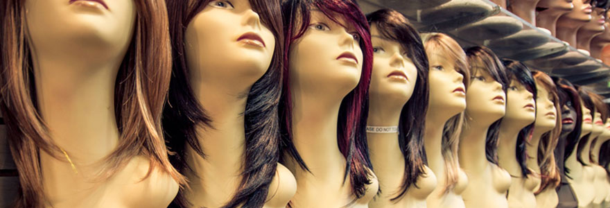 Achat de perruques naturelles en ligne