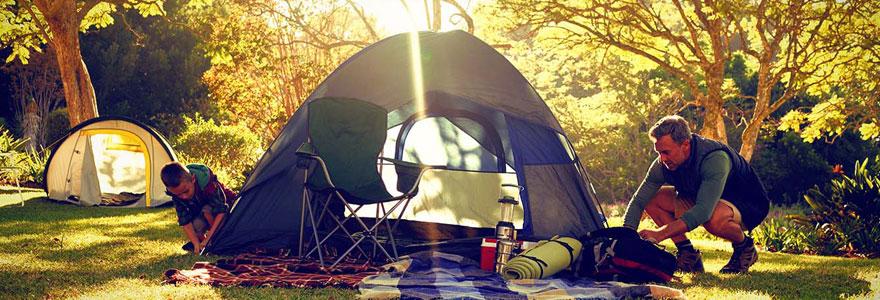 Achat de tentes de camping