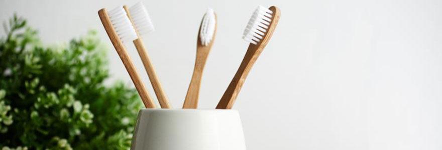 Opter pour une brosse à dent en bambou