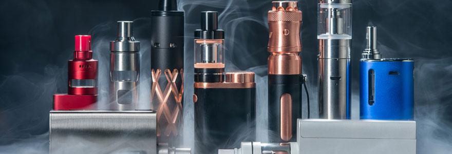 Les éléments de cigarette électronique