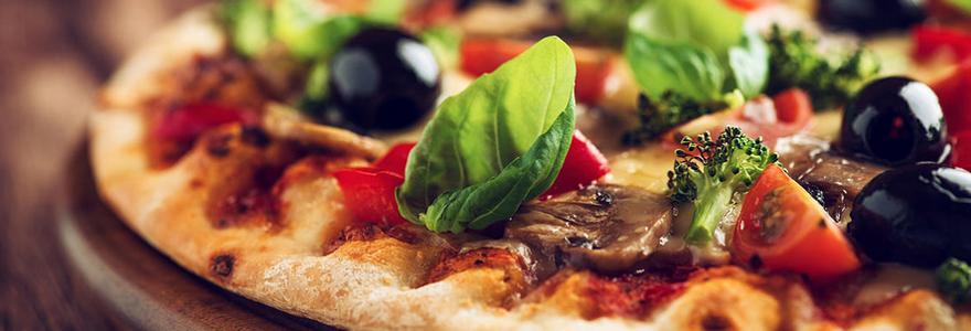 Commande de pizzas à emporter