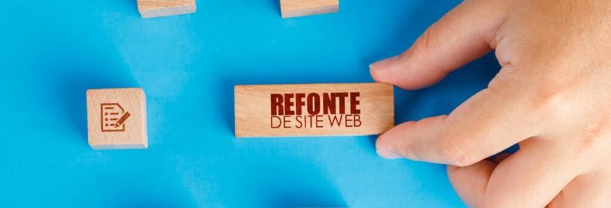 refonte de son site web